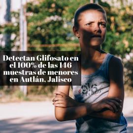 Encontraron pesticidas cancerígenos en la orina de 146 menores de Autlán, Jalisco