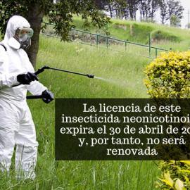 Europa acuerda prohibir un insecticida por afectar a la reproducción de los seres humanos